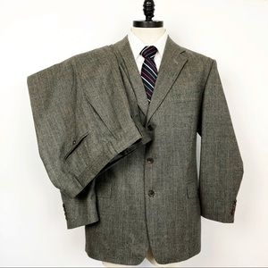 Burberry Pure Wool 2 pc. Suit gray with Tan tint